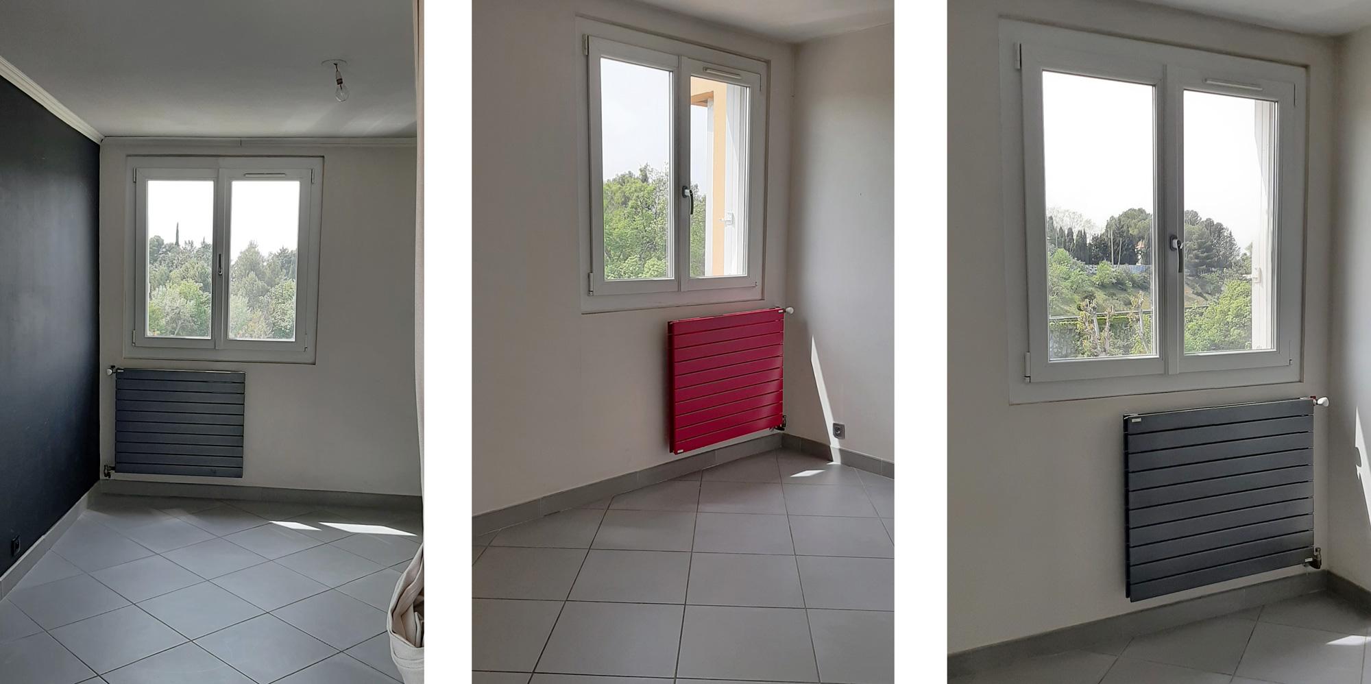 Double-vitrage et radiateurs